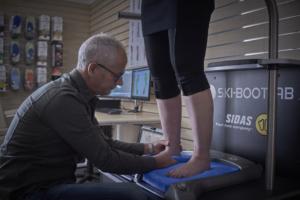 Skischoenen voor dikke kuiten voetmeting
