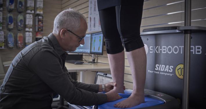 Skischoenen voor brede voeten voetmeting