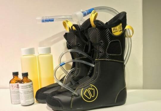 Skischoenen voor smalle voeten foamen